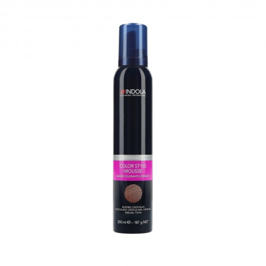 Indola Color Style Mousse Espuma colorante para el cabello 200ml - 1