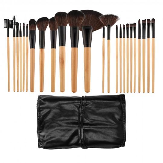 Professional Makeup brush set 24pcs - 1