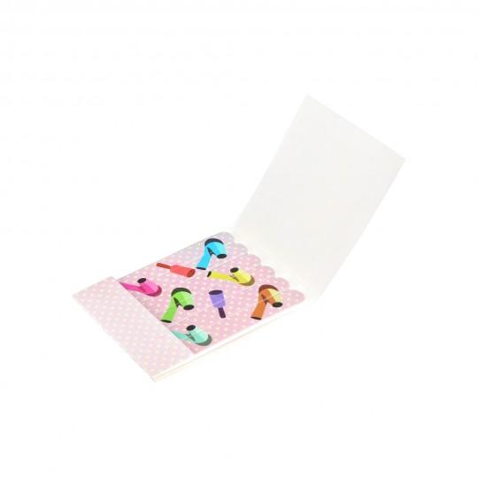 Jednorazowy papierowy pilnik do paznokci – zestaw 6 sztuk