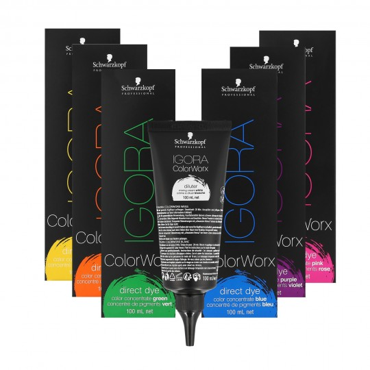 SCHWARZKOPF PROFESSIONAL IGORA Colorworx Farba do włosów 100ml