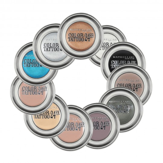 MAYBELLINE EYESTUDIO COLOR TATTOO 24h cream gel eyeshadow 4ml