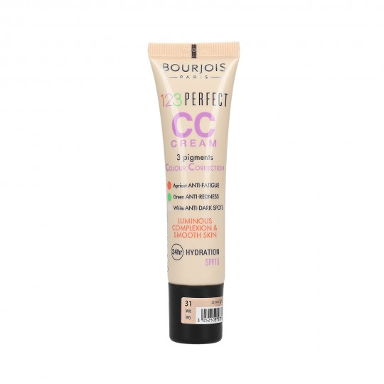 BOURJOIS 123 PERFECT CC Cream Krem tonujący 30ml - 1