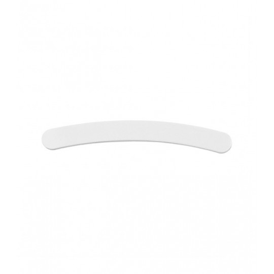 Banana shaped nail file 180/240 in White