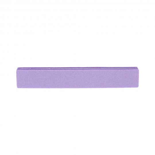 Straight double-sided nail buffer 100/180 – Purple - 1