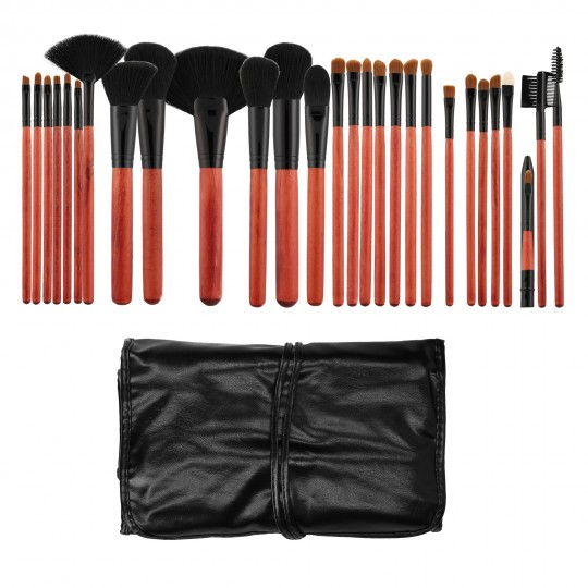 Professional Makeup brushes 28pcs set - 1
