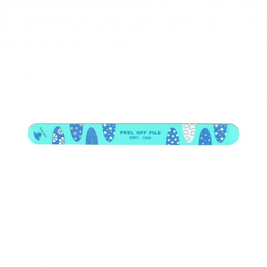 Double-sided multilayer natural nail file