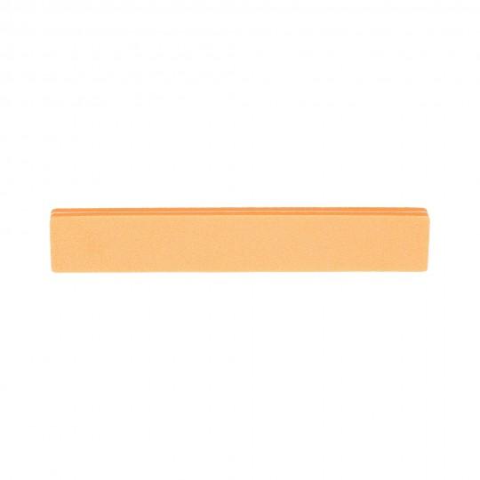 Lima de uñas de doble cara Naranja 100/180 - 1