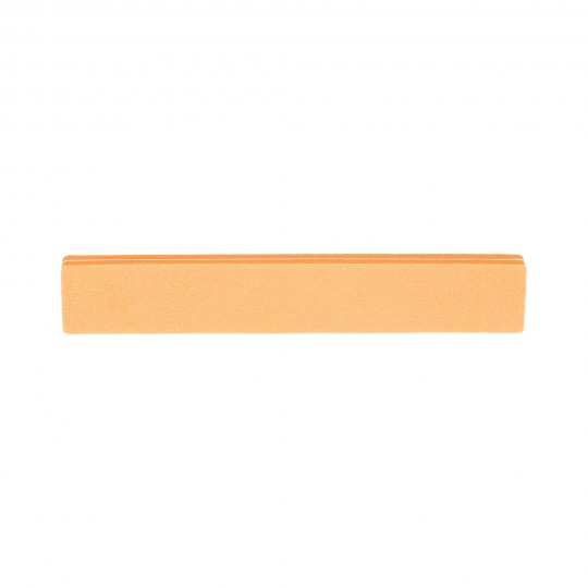 Straight double-sided nail buffer 100/180 – Orange