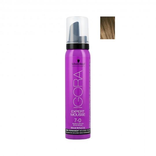 Schwarzkopf Professional Igora Expert Mousse Tinte en espuma para cabello 100ml