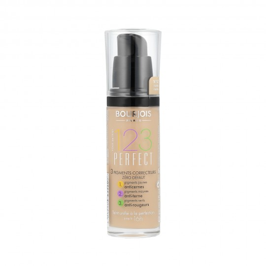 Bourjois 1.2.3 Perfect Correcting Pigments Foundation 30 ml - 1