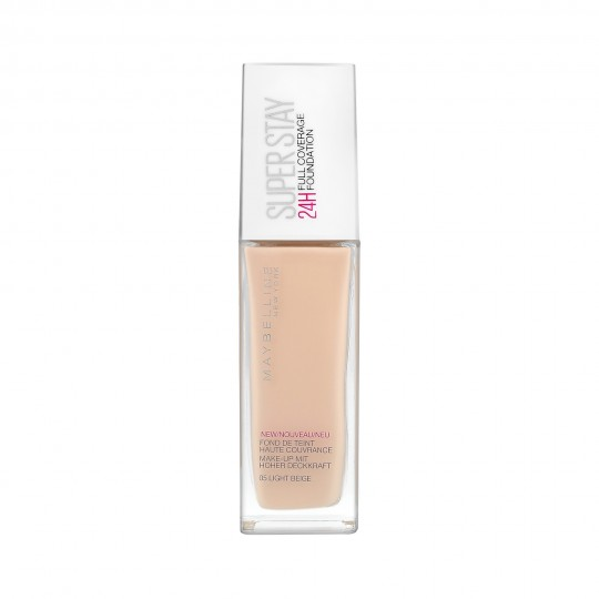 MAYBELLINE SUPERSTAY 24H Full Coverage Base de maquillaje 24h 30ml