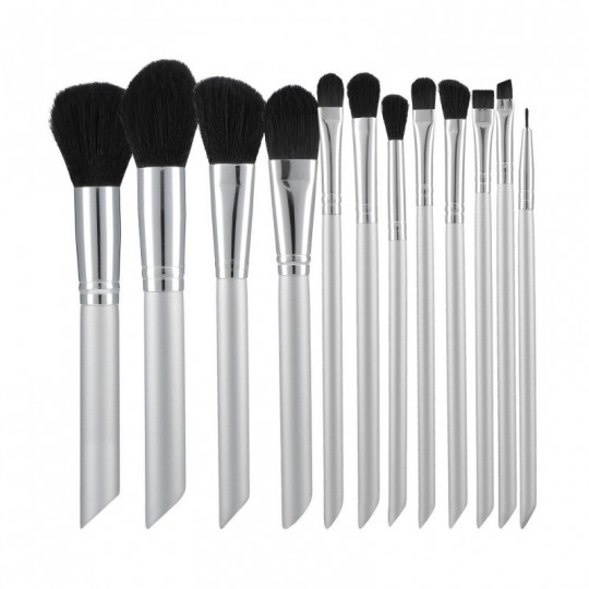 Makeup brushes set 12 pcs - 1