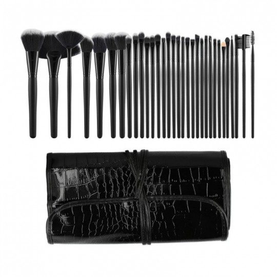 Makeup brushes set 32 pcs - 1