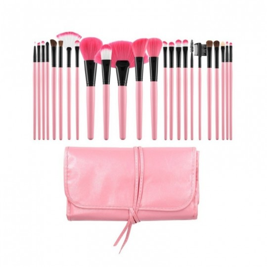 Makeup brushes set 24 pcs - 1