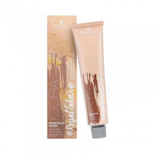 SCHWARZKOPF PROFESSIONAL IGORA Royal Take Over Disheveled Nudes Tinte para el cabello 60ml