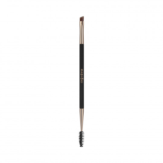 Kashōki by Tools For Beauty, 412 Dwustronny pędzel do brwi ze spiralką