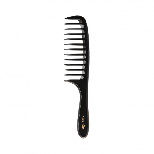 KASHŌKI Grzebień Misaki do rozczesywania i układania długich i gęstych włosów - 1