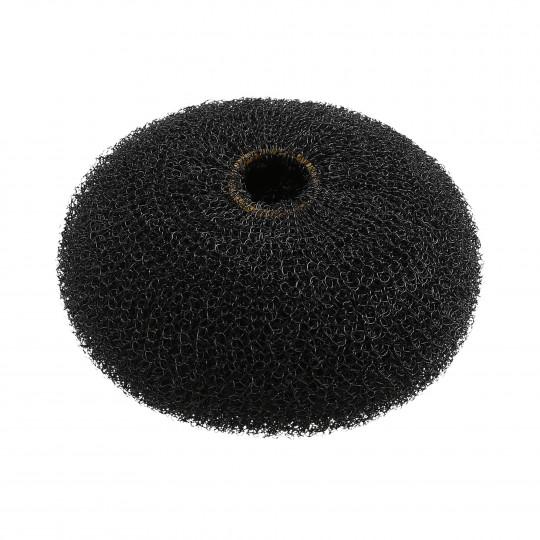 LUSSONI by Tools For Beauty, Okrągły wypełniacz do koków, Czarny, Ø 90 mm