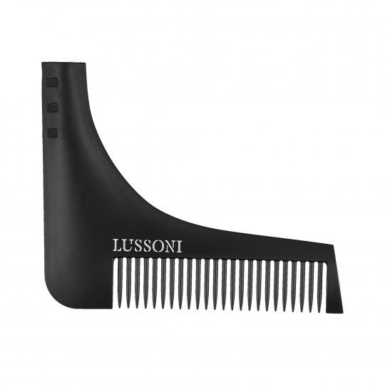 LUSSONI BC 600 Grzebień barberski do stylizacji brody i zarostu