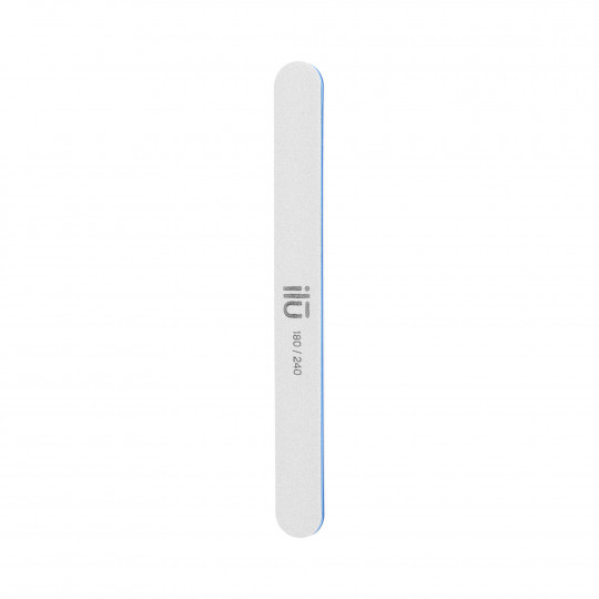 ilū Double-sided nail file straight 180/240