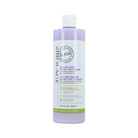 MATRIX BIOLAGE R.A.W COLOR CARE Acidic Milk Mleczko do włosów farbowanych 500ml