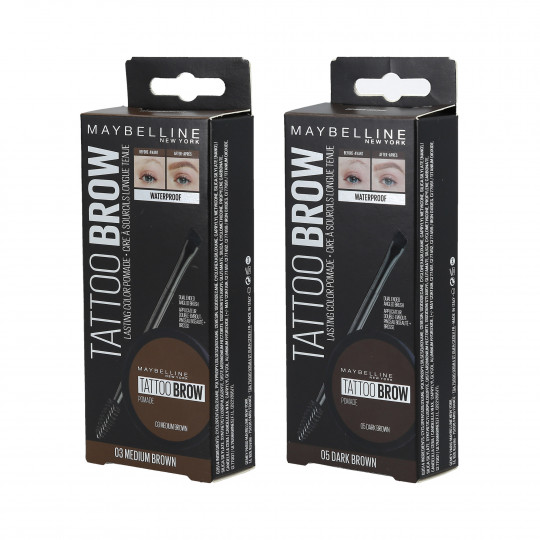 MAYBELLINE TATTOO BROW Pomade Pomada do brwi