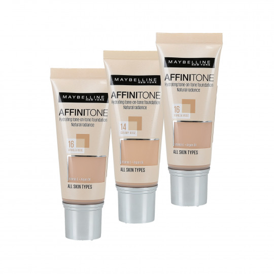 MAYBELLINE AFFINITONE Foundation HD Podkład do twarzy 30ml - 1