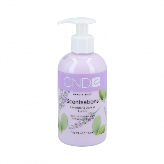 CND Scentsation Lavender & Jojoba hand and body lotion 245ml