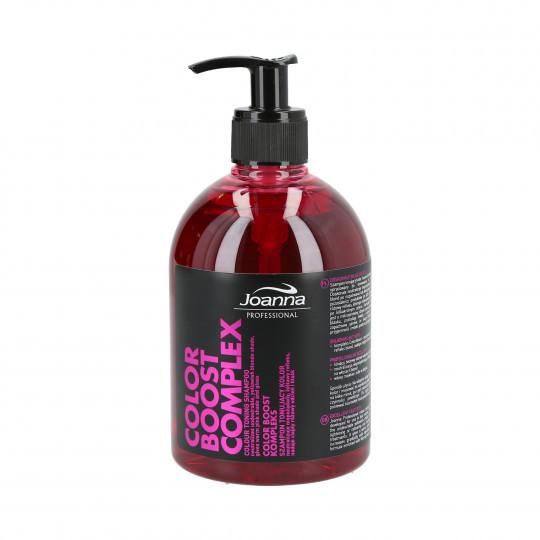 JOANNA PROFESSIONAL COLOR BOOST COMPLEX Szampon tonujący kolor włosów 500ml