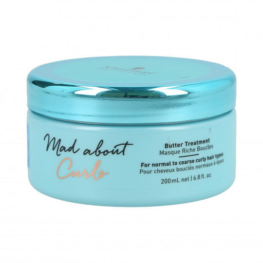 SCHWARZKOPF PROFESSIONAL MAD ABOUT CURLS Butter Treatment Mask 200ml - 1