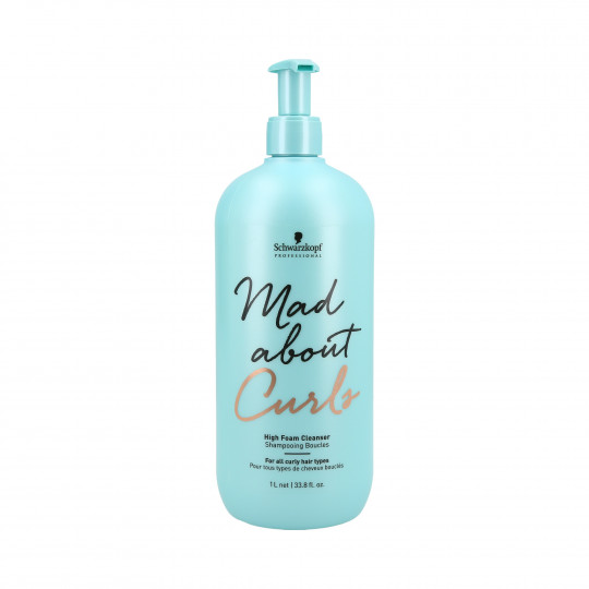SCHWARZKOPF PROFESSIONAL MAD ABOUT CURLS High Foam Cleanser Gęsta pianka myjąca 1000ml