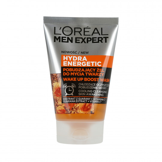 MEN EXPERT HYDRA ENERGETIC FACE GEL WASH 100ML