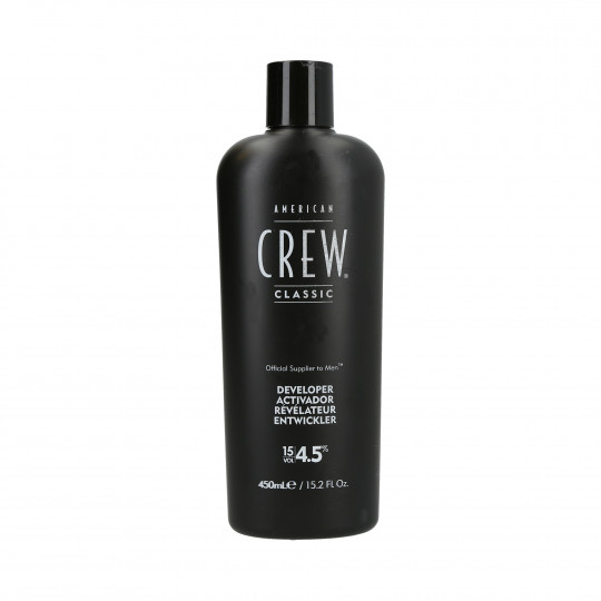 AMERICAN CREW Precision Blend developer oxidant 4.5% (15 vol.) 450ml