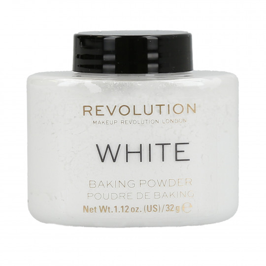 MAKEUP REVOLUTION Loose Baking Puder sypki do twarzy 32g