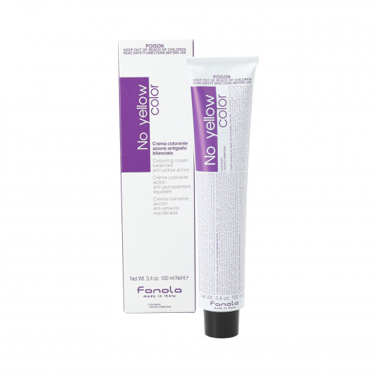 FANOLA NO YELLOW COLOR Colour neutralising cream for blonde hair 100ml