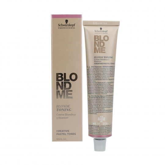 SCHWARZKOPF PROFESSIONAL BLONDME Toner do włosów blond 60ml