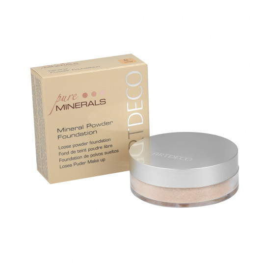 ARTDECO MINERAL POWDER FOUNDATION Base mineral en polvo 15g - 1