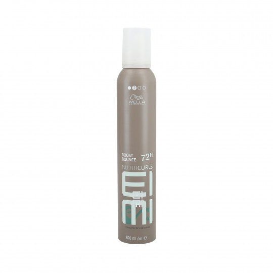 WELLA PROFESSIONALS EIMI NUTRICURLS Boost Bounce Foam cabello rizado 300ml - 1