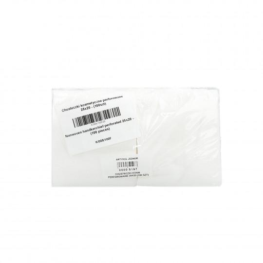 EKO-HIGIENA Chusteczki kosmetyczne perforowane rolka 25x20cm 100szt