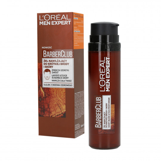 L'OREAL PARIS MEN EXPERT BARBER CLUB Hair and facial hair gel 50ml - 1