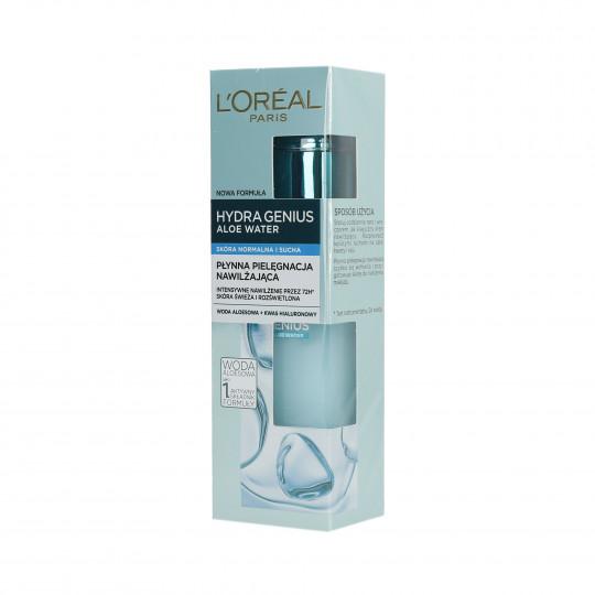 L'OREAL PARIS HYDRA GENIUS Płynna pielęgnacja nawilżająca – cera normalna i sucha 70ml - 1