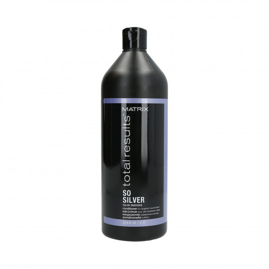 MATRIX TOTAL RESULTS COLOR OBSESSED SO SILVER Conditioner for blonde and grey hair 1000ml - 1