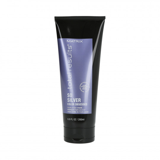 MATRIX TOTAL RESULTS COLOR OBSESSED Mascarilla para cabello rubio y gris 200ml - 1