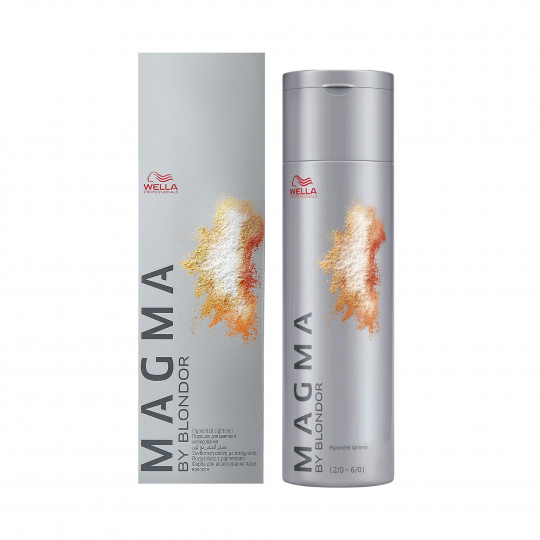 WELLA PROFESSIONALS MAGMA Pigmented lightener Natural Brown Intense 120ml - 1
