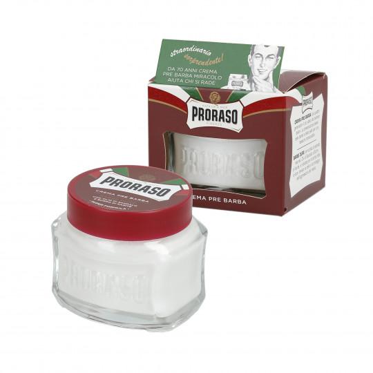 PRORASO RED Odżywczy krem przed goleniem 100ml
