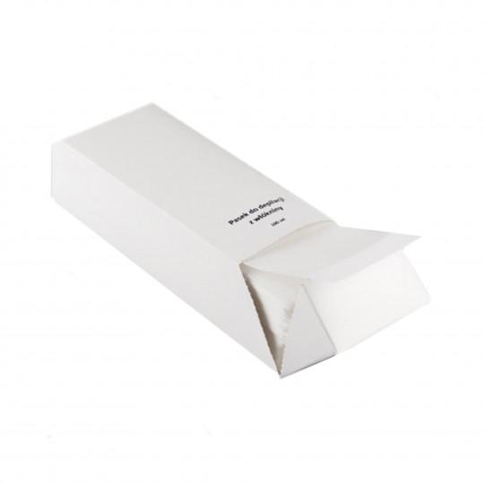 EKO-HIGIENA Paski do depilacji z włókniny- kartonik 100szt - 1
