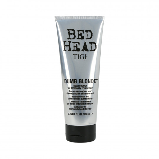 TIGI BED HEAD DUMB BLOND Reconstructor Odżywka do włosów blond 200ml - 1