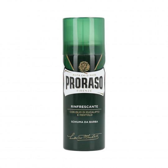 PRORASO GREEN Odświeżająca pianka do golenia 50ml