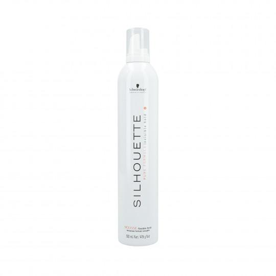 SILHOUETTE FLEXIBLE MOUSSE (WHITE) 500ML