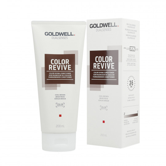 GOLDWELL DUALSENSES COLOR REVIVE Odżywka koloryzująca Cool Brown 200ml